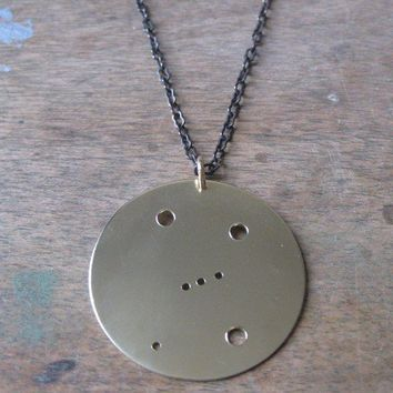 Orion Constellation Pendant Necklace by JulieNolan on Etsy