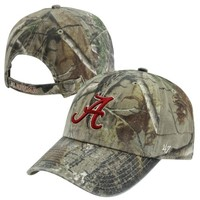'47 Brand Alabama Crimson Tide Logo Clean Up Adjustable Hat - Realtree Camo