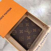Kuyou Lv Louis Vuitton Fashion Women Men Gb19530 M93801 Gaspar Wallet 11x9.5cm