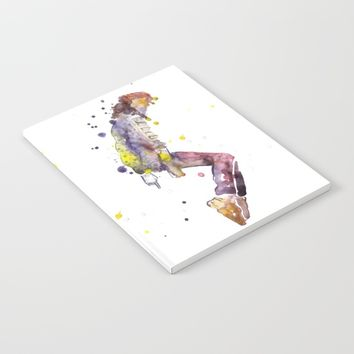Pop Star Notebook by Salome