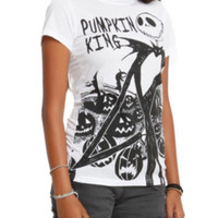 The Nightmare Before Christmas Pumpkin King Girls T-Shirt