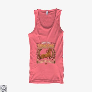Live Free Horse Lover, Horse Tank Top
