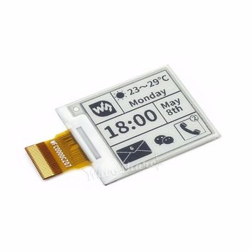 1.54inch E-Ink Raw Display Panel E-paper 200x200 with Embedded Controller SPI Interface Without PCB Supports Partial Refresh