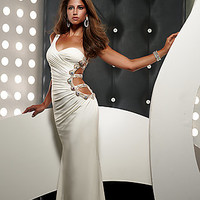 Jasz One Shoulder Beaded Prom Evening Gowns by Jasz