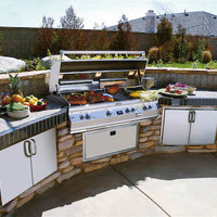 Outdoor Kitchen Design Ideas by withhomeandgarden : Modern Home Furniture Products Pictures, Images, Photos