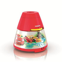 Philips 717693248 Disney Cars 2-in-1 Projector and Night Light, Red