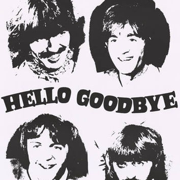 The Beatles Hello Goodbye Poster 23x33