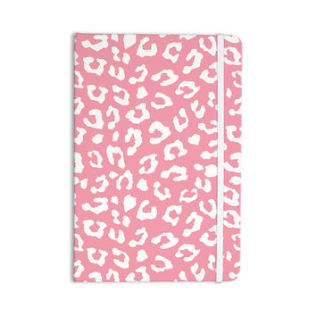 "Wildlife ""Pink Animal Print 1"" Rose White Everything Notebook"