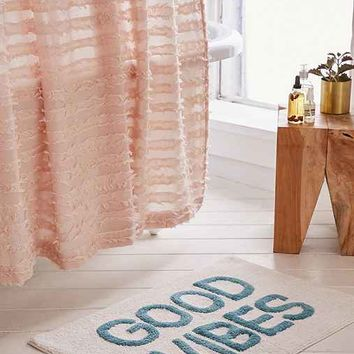 Good Vibes Tufted Bath Mat