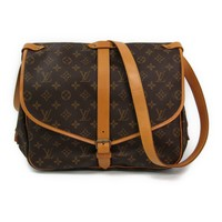 Louis Vuitton Monogram Saumur M42254 Women's Shoulder Bag Monogram BF316894