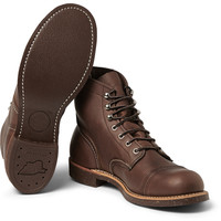 Red Wing Shoes - Iron Ranger Leather Boots | MR PORTER