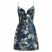 Esplanade Brocade Dress - The Latest
