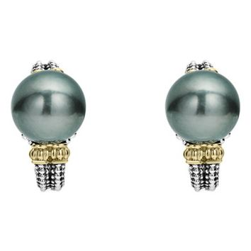 LAGOS Luna Pearl Stud Earrings | Nordstrom