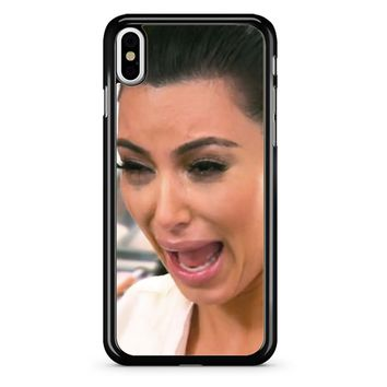Kim Kardashian Ugly Cry iPhone X Case