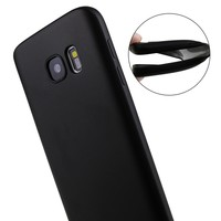 Case For Samsung Galaxy S7 edge S8 Plus Back Cover Black Luxury Ultra Thin Silicone Coque For Samsung Galaxy S7 edge S6
