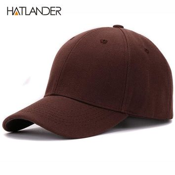 Plain solid baseball caps outdoor sports hats bone hip hop adjustable blank cap and hat for men and women