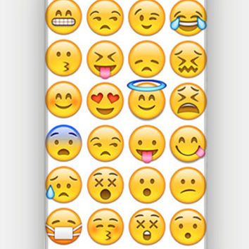 Emoji Collection - Funny - Full printed 3D case for iPhone 4/4S/5/5S/5C/6/6 Plus - by HeartOnMyFingers - CMB-094