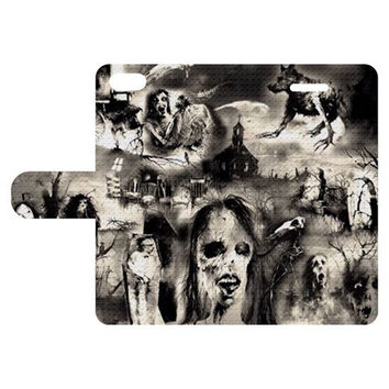 Scary Stories Leather Phone Case