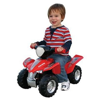 friendly toys polaris ride on atv red from target. Black Bedroom Furniture Sets. Home Design Ideas