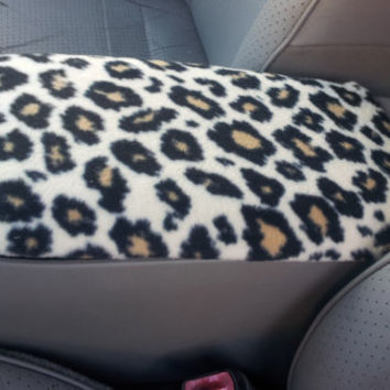 Center Console Cover CHEETAH or ZEBRA PRINT for Mazda 6 2003 to 2005 (Sample Picture) Lid Cover