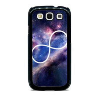 Infinity Symbol Stars Galaxy Space Unique  for Samsung cases