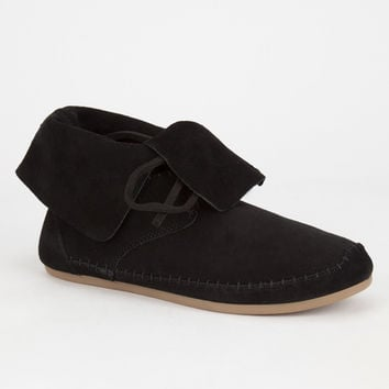 Toms Zahara Womens Booties Black  In Sizes