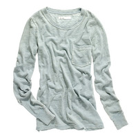 LONG-SLEEVE INDIGO INK TEE