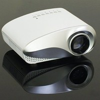 AomeTech Upgraded K10 LED Mini Portable Projector Pico Projector Cinema Theater PC & Laptop With HDMI Interface -White