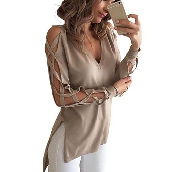 Long Sleeve Women Blouse