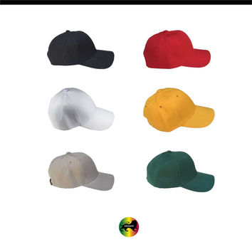 Plain Blank Ball Baseball Adjustable Cap Hat Baseball Caps Hats New 1SZ FIT
