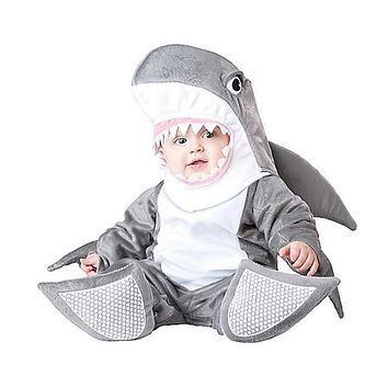 Baby Halloween Party Autumn Christmas Romper Animals Clothes Kids Cosplay Shark Costume Rompers Children Animal Clothing