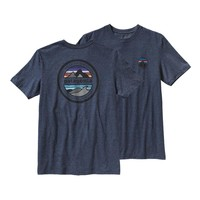Patagonia Men's Rivet Logo Cotton/Poly T-Shirt