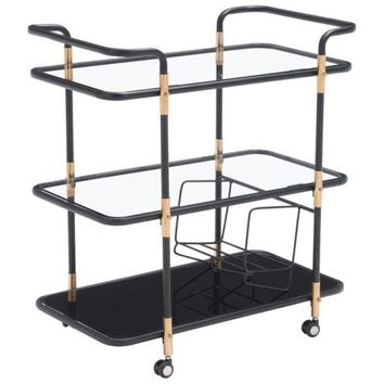 ZUO Modern Secret Serving Cart 100191 Dining,Bar Storage