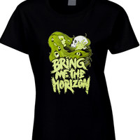 Bring Me The Horizon Girl Illustrations Womens T Shirt
