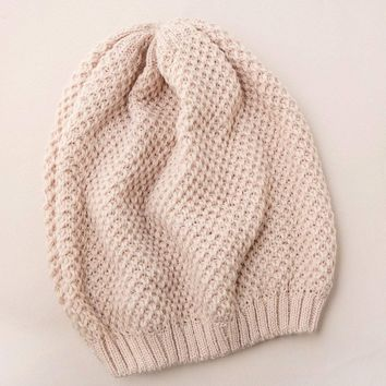 Easygoing Slouch Beanie