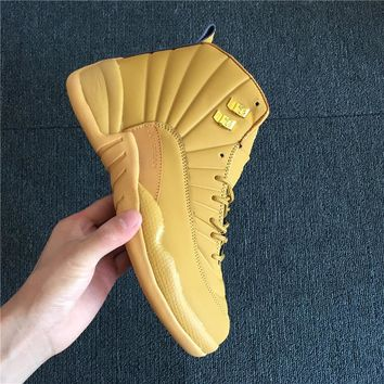 Air Jordan 12 Retro Wheat Sneaker Shoe