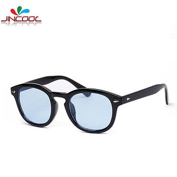 Tint Lens Sunglass Men 2016 Vintage Fashion Sunglasses Women Brand Designer Johnny Depp Sun Glasses High Quality Oculos de sol