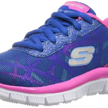Skechers Kids Skech Appeal Sneaker (Little Kid/Big Kid) Blue/Multi Little Kid (4-8 Years) 1 M US Little Kid '