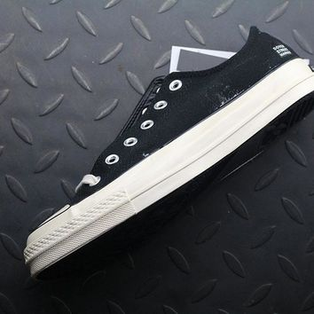 Converse x Dsmny 1970S CDG Fashion Canvas Flats Sneakers Black