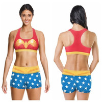 Wonder Woman workout set