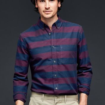 Gap Men Rugby Oxford Shirt Slim Fit