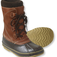 Women's L.L.Bean Snow Boots with Tumbled Leather