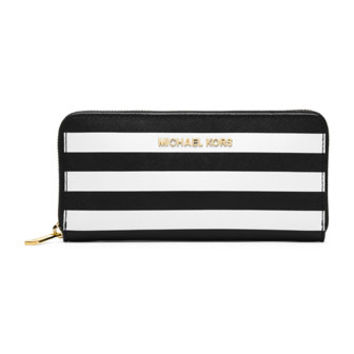 MICHAEL Michael Kors Jet Set Travel Striped Wallet