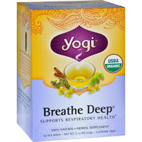Yogi Tea Breathe Deep - Caffeine Free - 16 Tea Bags