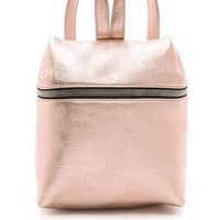 KARA Metallic Small Backpack