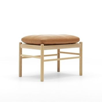 Ole Wanscher Colonial Footstool OW149F