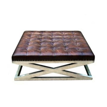 Cleo's Coffee Table | Vintage Cigar Brown