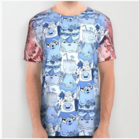 Adventure Time All Over Print Shirt by Laura O'Connor