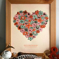 Death Cab For Cutie - Limited Edition Hand Printed Silkscreen Poster - Hero Design Studio