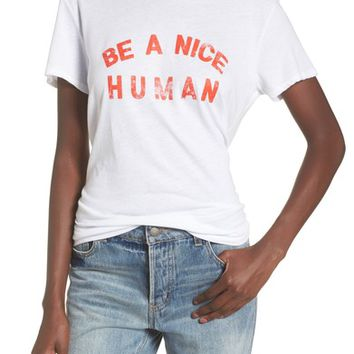Sub_Urban Riot Be A Nice Human Tee | Nordstrom